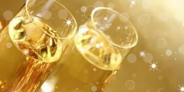 Rozen champagne